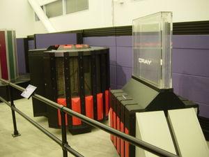 Cray 2 en el Museo de la Historia de los Ordenadores